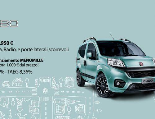 Fiat Qubo tuo a 10.950 €