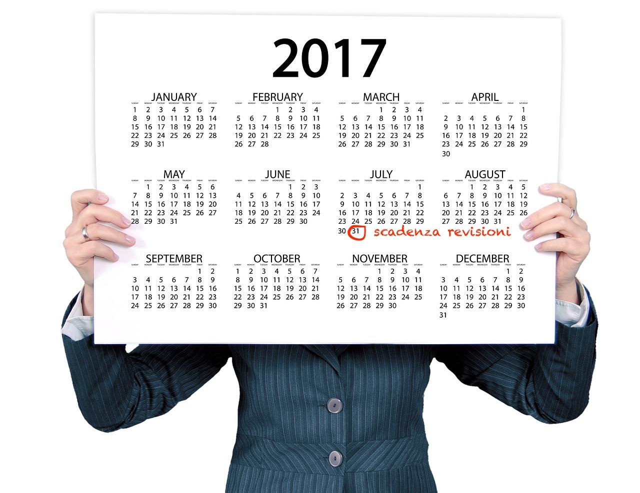 scadenza revisione auto luglio 2017